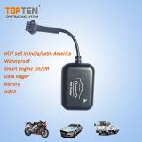 自由に追跡の防水GPS GSMのオートバイの機密保護の警報システム(MT05-ER)