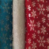 Impression holographique à la chaleur de la feuille holographique Glod pour tissu textile