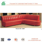 Индивидуальные кожаные гостиной угловой диван комбинации