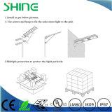 Integriertes 30W Solar-LED Straßenlaterneder Fabrik-