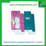 Cuidado de piel de encargo de la ventana del PVC/producto de maquillaje/rectángulo de empaquetado del regalo de papel de la crema/del cosmético/del perfume