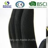 Вкладыш 13 датчиков Nylon, покрытие нитрила, перчатки работы безопасности отделки Sandy (SL-NS101)