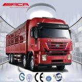 340HP貨物貨物自動車かヴァンTruckに積み過ぎているSaicIvecoHongyan 8X4