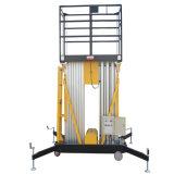 Plate-forme duelle mobile hydraulique de travail aérien de mâts (hauteur maximum 8m)