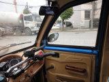 125cc 150cc triciclo de color azul de pasajeros con vídeo inverso