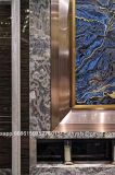 Testo fisso del metallo dell'oro per il materiale dell'acciaio inossidabile di colore dello specchio di Windows dei portelli
