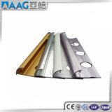 Ajuste de la esquina de Ceramictile del ajuste de aluminio del azulejo de la alta calidad