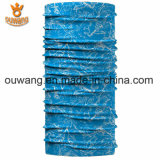 Fördernder populärer preiswerter Zoll gedruckter Microfiber Polyester-Paisley-Gefäß-Schal
