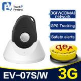 Водоустойчивый личный отслежыватель EV-07s GPS с свободно системой слежения GPS