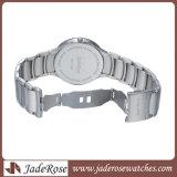 Neue Art-spezieller Vorwahlknopf in der klassischen Uhr, Quarz-Uhr der Männer