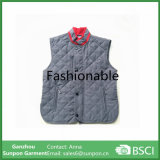Polyester Peach Tissu Winter Warm Vest