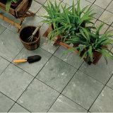 4 en 1 Piece Rusty Pavé naturel en ardoise Stone Decking Tile for Outdoor
