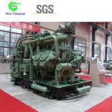 Compresor de gas natural del uso CNG de la industria que intercambia el compresor de gas del pistón