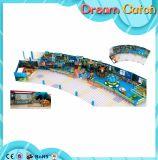Plantas do campo de jogos dos miúdos para o parque de diversões das crianças