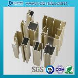 Profil en aluminium d'extrusion de couche de poudre pour le matériau de construction avec la couleur/taille personnalisées