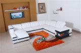 Hauptmöbel-Schwarz-Leder-Sofa mit Couch (HC1047)