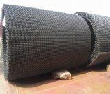 ひだを付けられた金網は、線形振動スクリーン、ミネラルスクリーンの網を採鉱する
