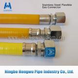 Csst En15266 Unroll a mangueira flexível do gás