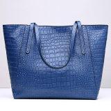 Formato di lusso del sacchetto di spalla delle donne delle borse del cuoio di stile del coccodrillo grande per le signore Emg5110