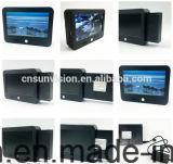 """Preto 7 """" LCD que anuncia o frame da foto de Digitas do jogador"""