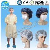SMS/ PP Bata paciente/ Hospital vestido con manga corta, bata de hospital, bata de examen