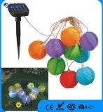 مجموعة من 10 شمسيّ فوانيس زاهية حزب فوانيس خيط يثبت لأنّ فناء