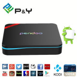 P&Y 2016 저가 직업 최신 판매 2GB 렘 16GB 텔레비젼 상자 Kodi17.0 Amlogic S912 Pendoo X9