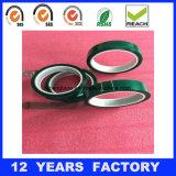 Cinta adhesiva de Eletrical del animal doméstico del verde del aislante de la resistencia térmica ampliamente utilizada para la producción del PWB