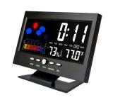 Digital-Tisch-Taktgeber mit Wetter-Temperatur-Bildschirmanzeige
