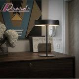 Acero moderno de la luz de la tabla en negro mate para dormitorios