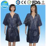 No tejido SMS kimono, kimono desechable Belleza SPA