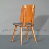 حديثة تجلّيت خشبيّة مطعم كرسي تثبيت مع مسند ظهر ([سب-ك644])