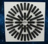 De vierkante Verspreiders van het Plafond van de Werveling met Regelbare Bladen