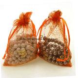 Kundenspezifisches Firmenzeichen-Geschenk-kleine Organza-Beuteldrawstring-Beutel