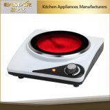 セリウムのRoHSの承認の赤外線炊事道具ES3106c二重バーナーの陶磁器のストーブ