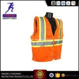 Het in het groot Vest Van uitstekende kwaliteit van de Veiligheid van het Embleem van de Douane Weerspiegelende met En20471