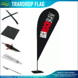 Изготовленный на заказ флаги Teardrop/пляжа для рекламировать (B-NF04F06004)