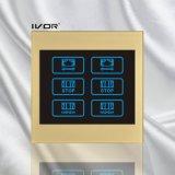 Frame acrílico do esboço do interruptor da cortina de 2 grupos (CT100-AC2)
