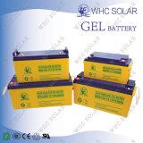 12V jejuam bateria solar do gel do ciclo profundo do Recharge