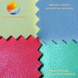 Tessuto di cuoio di alta qualità per il sofà con superficie impressa Fpe17m6n