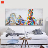 Zèbres de haute qualité pour la peinture à l'huile de décoration