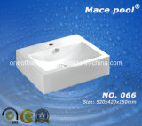 De sanitaire Was van de Hand van het Bassin van de Kunst van Waren Vierkante (066)