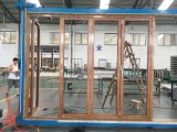 Prezzi pieganti Bifold esterni dei portelli del patio del portello/alluminio dell'alluminio