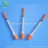 Seringas de insulina com infusões de 1 ml Agulhas Desconto