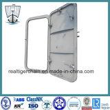 Porte en acier de Simple-Lame pour le bateau