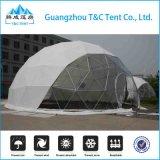 La tente de Chambre de dôme de la fibre de verre FRP de bâti en métal, couvrent d'un dôme géodésique en vente