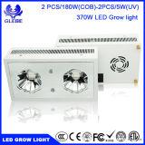 La pianta del LED si sviluppa chiara, serie 370W 2PCS/180W (PANNOCCHIA) che dello Zeus lo spettro completo LED coltiva gli indicatori luminosi per le piante d'appartamento
