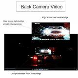 極度の夜間視界7.0inch車DVRのバックミラーのカメラ二重レンズのLdws Adas WDRの駐車Dashcam 1080P車カム