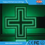 P10 напольный одиночный знак цвета СИД перекрестный для фармации