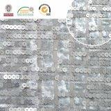 Slivery ткань шнурка Embroidry шариков, шикарно и способ для новой ткани C10053 шнурка